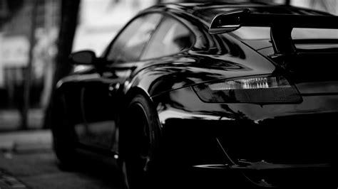 Car Wallpaper Black And White by Hd Wallpaper Porsche Black And White Sport Car