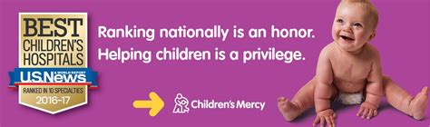 Children's Mercy Ranked as one of Nation's Top Pediatric ...