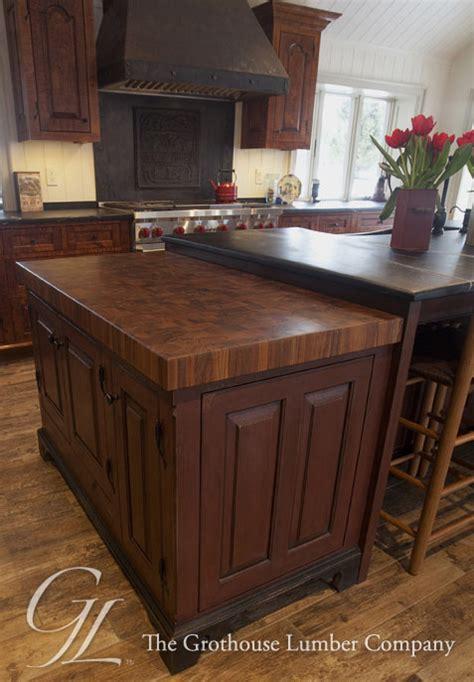 teak butcher block countertop  forge pennsylvania