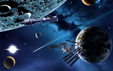 All Wallpapers: Fantasy Planets and Galaxies HD Wallpapers
