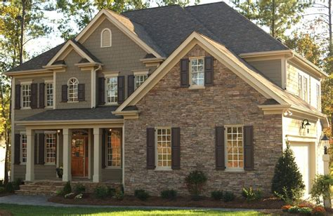 house design with taupe exterior color studio design