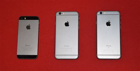 the new iphone 6s review apple iphone 5s vs iphone 6 vs the new iphone 6s