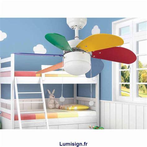 ventilateur de plafond pour chambre ventilateur de plafond palao multicolore marque faro