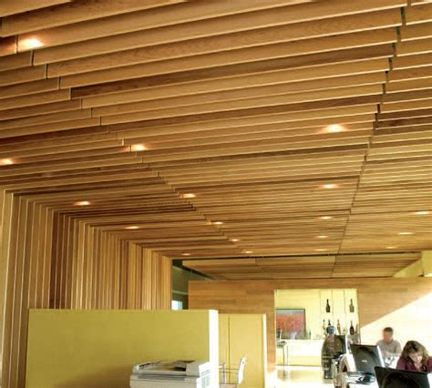 Suspended Wood Ceiling by Wood Ceilings Photos