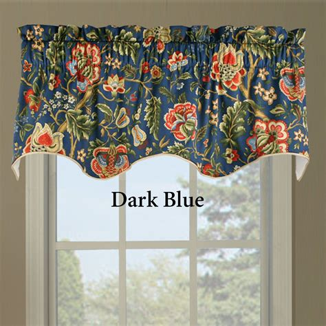 Waverly Curtains And Valances by Regency Floral Duchess Filler Valance By Waverly