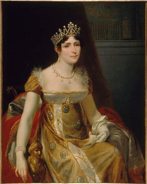 valet de chambre m騁ier portrait de la reine hortense musée de la maison bonaparte à ajaccio