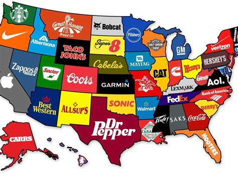 2012 13 Nhl Standings by The Most Famous Brand In Every State Business Insider