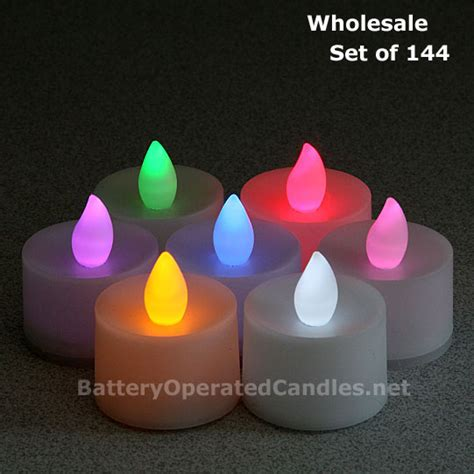 battery operated tea lights bulk battery operated candles with timer wholesale affordable