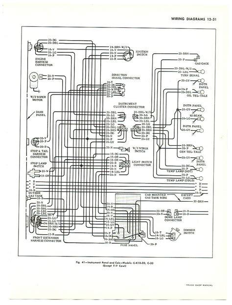 1966 C10 Alternator Wiring Diagram by S Chevy Restoration Site Gauges In A 66 Chevy Truck