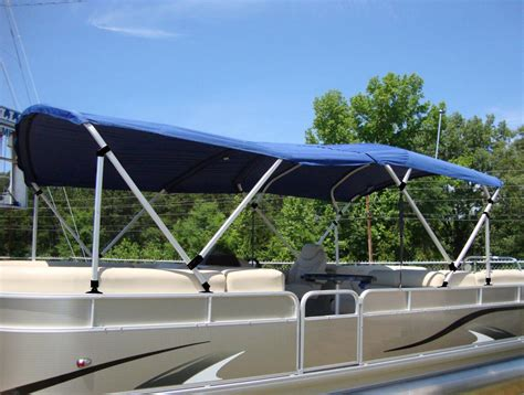 Pontoon Boats Bimini Tops carver dual pontoon bimini tops coverquest