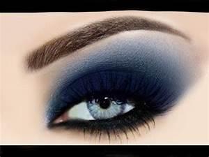 Smokey Eyes Blaue Augen : maquillaje azul youtube ~ Frokenaadalensverden.com Haus und Dekorationen