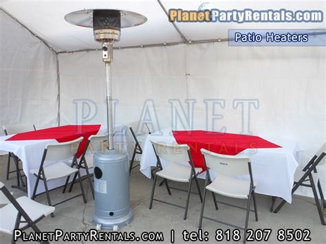 patio heater rental includes propane tank