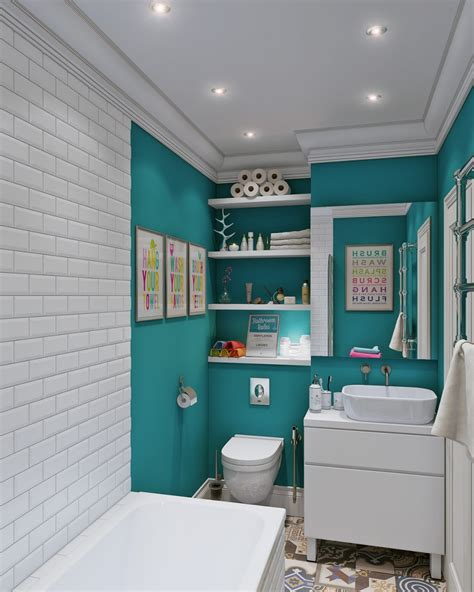 Teal And White Bedrooms by 40 Of The Best Modern Small Bathroom Design Ideas
