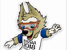 Con Zabivaka todas las mascotas del Mundial de Fútbol