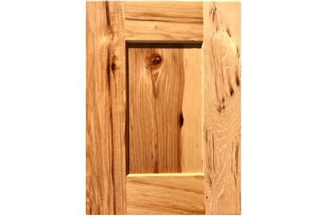 Knotty Hickory Shaker Sample Door   Wholesale Kitchen