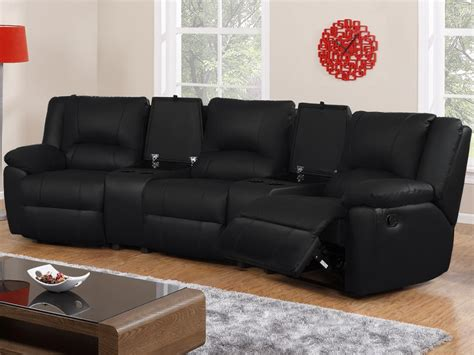 canape relax 3 places canap 233 3 places et fauteuil relax cuir 3 coloris aroma