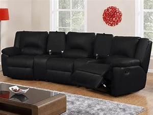 canape 3 places et fauteuil relax cuir 3 coloris aroma With canape 3 places et fauteuil