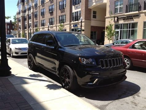 jeep cherokee blacked out ralphgilles one mean 2nd gen jeep grand cherokee srt8