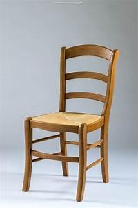 Chaise de cuisine en bois massif for Deco cuisine avec chaise en chene
