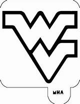 Virginia West Stencil Wv Wvu Coloring Printable Mountaineers Mr Template Outline State University Stencils Mha Logos Logodix sketch template