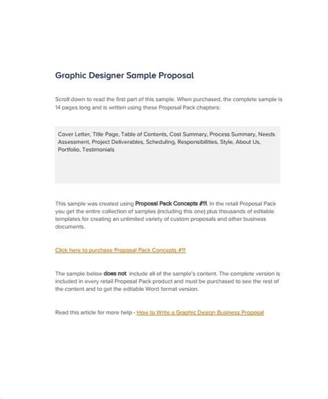 graphic designer sample