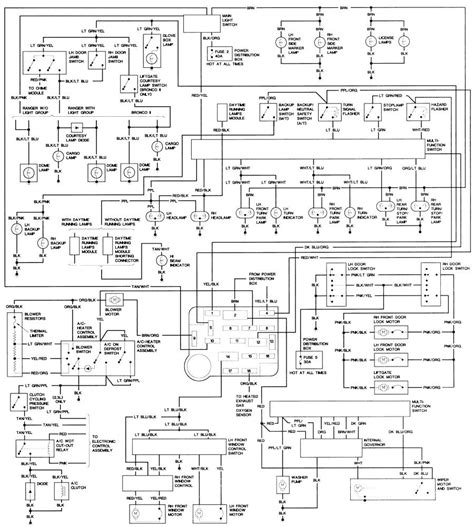 Ford Bronco Wiring Harnes Diagram by 87 Ford Bronco 2 Coil Wiring Wiring Library