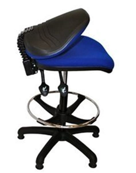 folding back high counter checkout computer office chair