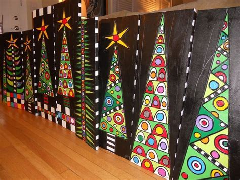 17 best ideas about christmas art projects on pinterest