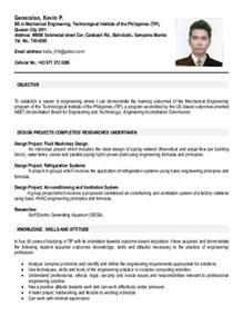 ojt resume objectives for computer science ojt resume
