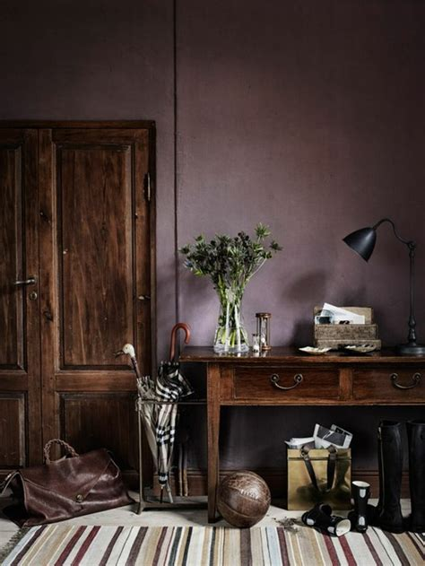 peinture violette chambre 80 idées d 39 intérieur pour associer la couleur prune