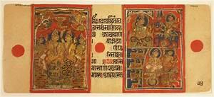Manuscript Page From Kalpasutra
