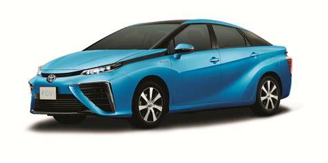 toyota mirai fuel cell sedan final design price
