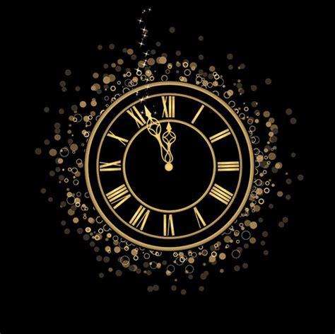 year clock vector ai svg eps vector