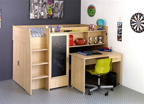 childrens loft bed with desk bed desk combo for small children s bedroom