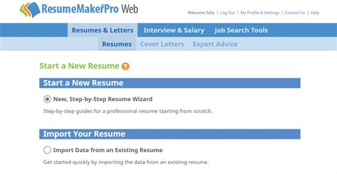 Resume Maker Pro by Resumemakerpro Web Annual Subscription Search Business