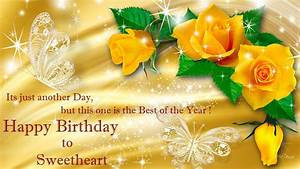 Khushi For Life: Birthday Yellow Rose Wishes Cards to ...