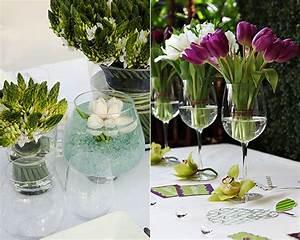 Tischdeko Geburtstag Ideen Frühling : ideen f r raffinierte blumendeko hochzeit mit tulpen freshouse ~ Buech-reservation.com Haus und Dekorationen