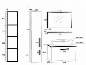 Meuble Sous Plan De Travail : meuble vasque meubles ~ Teatrodelosmanantiales.com Idées de Décoration