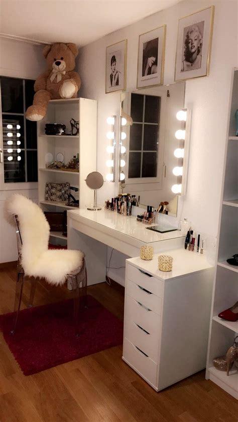pin  makeup room ideas