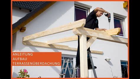 Terassendach Selber Bauen by Terrassen 252 Berdachung Aus Holz Terrassendach Selber Bauen