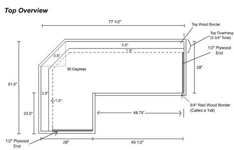 Bar Design Dimensions by Free Diy Home Bar Plans 8 Easy Steps Bar Home Bars