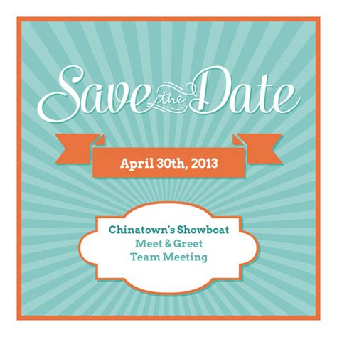 Meeting Save The Date Templates by Save The Date Meeting Clipart 21