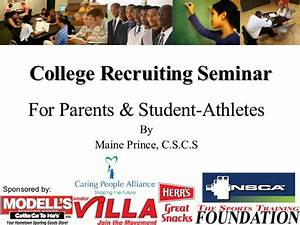 College Recruiting Seminar