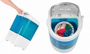 Machine À Laver À Pedale : mini machine laver groupon ~ Dallasstarsshop.com Idées de Décoration
