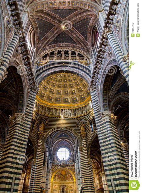 Siena Duomo di Diena stock photo. Image of blue, italy ...