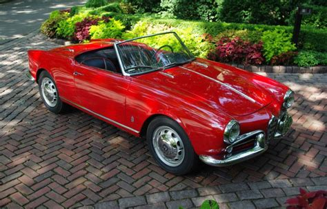 1957 Alfa Romeo Giulietta Spider 750d For Sale On Bat