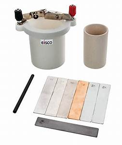 Eisco Labs Student Voltaic Cell  U0026 Porous Cup With
