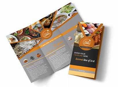 Brochure Restaurant Template Asian Fusion Templates Brochures