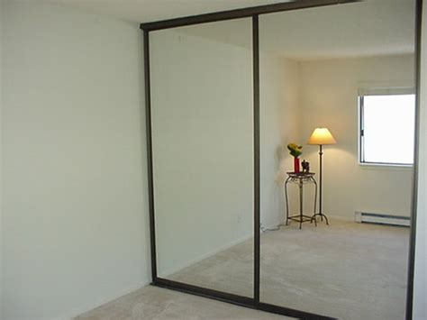 mirror closet sliding doors garage mirrors where to buy affordable large
