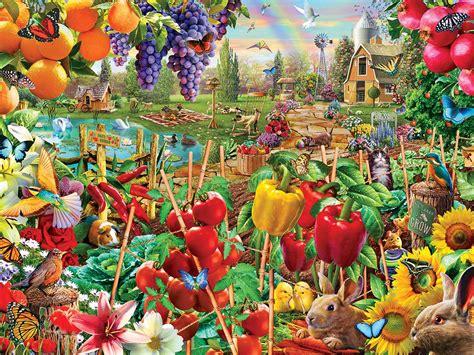 A Plentiful Season, 750 Pieces, MasterPieces | Puzzle ...